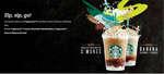 Ofertas de Starbucks, Sip, sip, go!