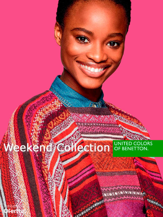 Ofertas de United Colors Of Benetton, Weekend Collection