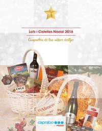 Lots i cistelles Nadal 2016