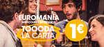 Ofertas de 100 Montaditos, Euromanía