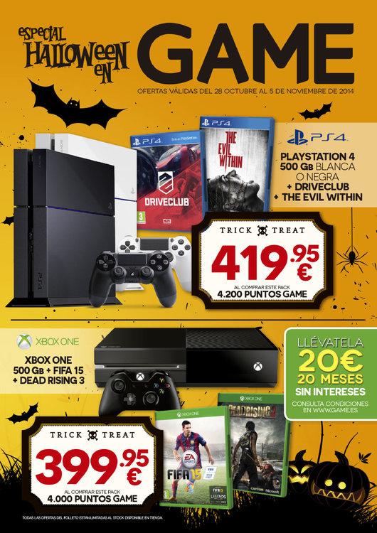 Ofertas de GAME, Especial Halloween 2014