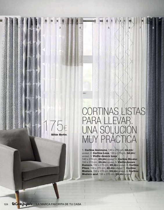 Ofertas de El Corte Inglés, Decora. Primavera/Verano 2015