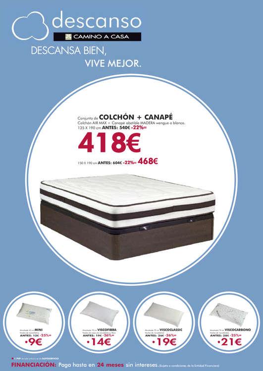 Comprar cama canape barato en legan s ofertia - Camino a casa fuenlabrada ...