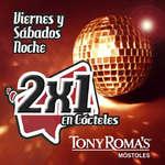 Ofertas de Tony Romas, 2x1 en Cócteles - Móstoles