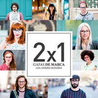 2x1 en gafas de marca