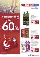 Ofertas de Eroski, Comprando 2, la 2ª unidad al 60%