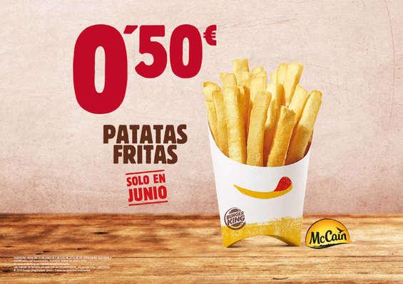 Ofertas de Burger King, Sólo en Junio