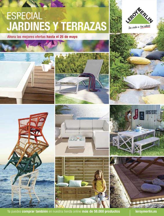 Ofertas de Leroy Merlin, Especial Terrazas y Jardines