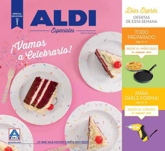 Aldi m laga cat logo ofertas y folletos ofertia - Catalogo bricomart malaga ...