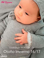 Ofertas de Pili Carrera, Lookbook recién nacido. Otoño Invierno 16-17