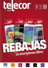 Rebajas en smartphones libres