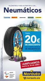 20€ dto Neumáticos marcas Premium