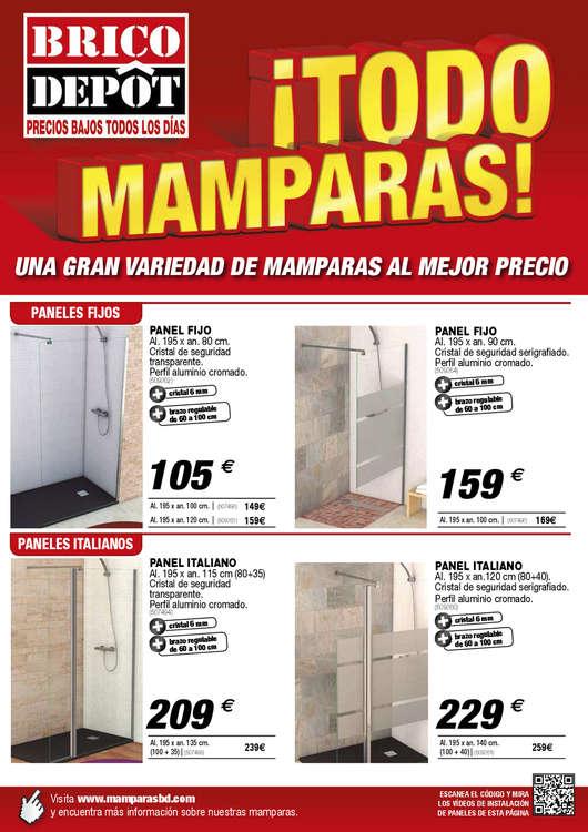 Ofertas de Bricodepot, ¡Todo mamparas! - Zaragoza