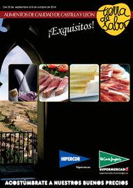 Alimentos de Castilla y León. Tierra de Sabor
