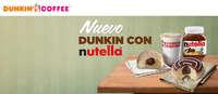 Nuevo Dunkin con Nutella