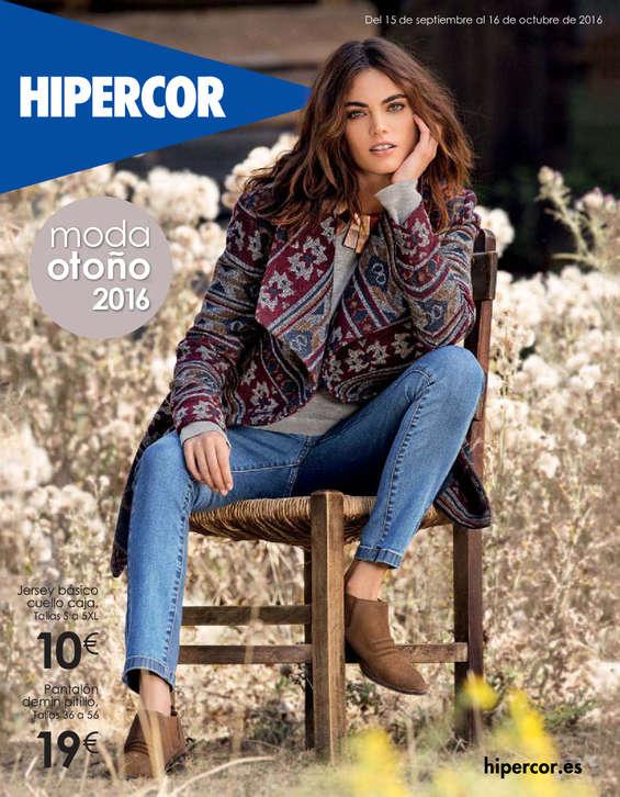 Ofertas de Hipercor, Moda otoño
