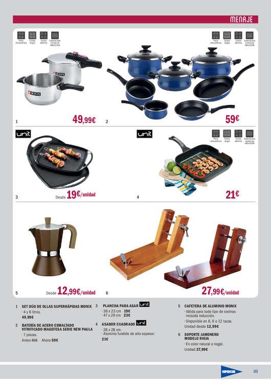 Comprar plancha cocina barato en madrid ofertia - Bascula cocina carrefour ...