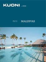 Ofertas de Kuoni, Folleto Maldivas 2016-2017