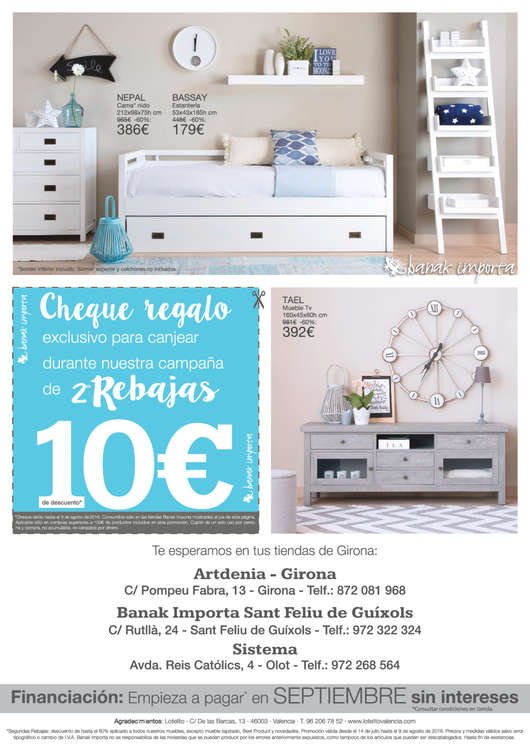 Ofertas de Banak Importa, 2as Rebajas - Girona