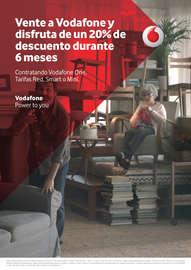 Vente a Vodafone y disfruta de un 20% de descuento durante 6 meses.