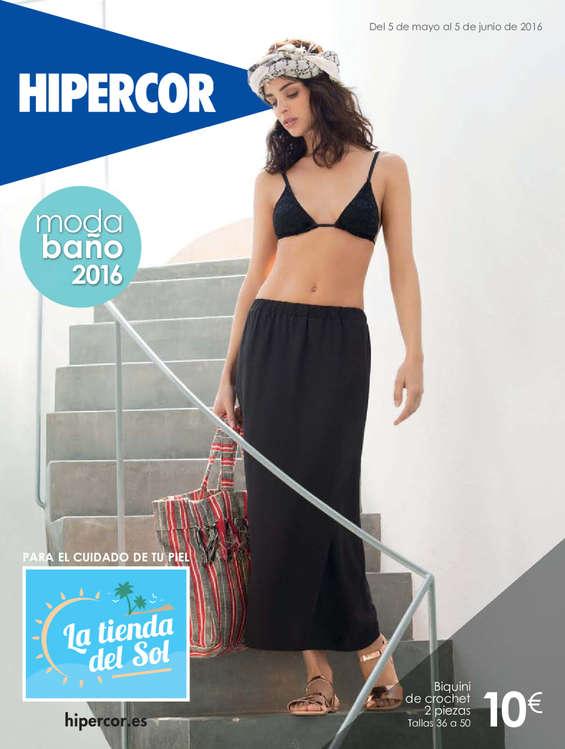 Ofertas de Hipercor, Moda baño 2016