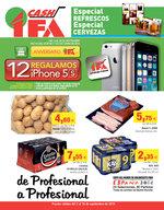 Ofertas de Cash Ifa, Especial Refrescos, Especial Cervezas