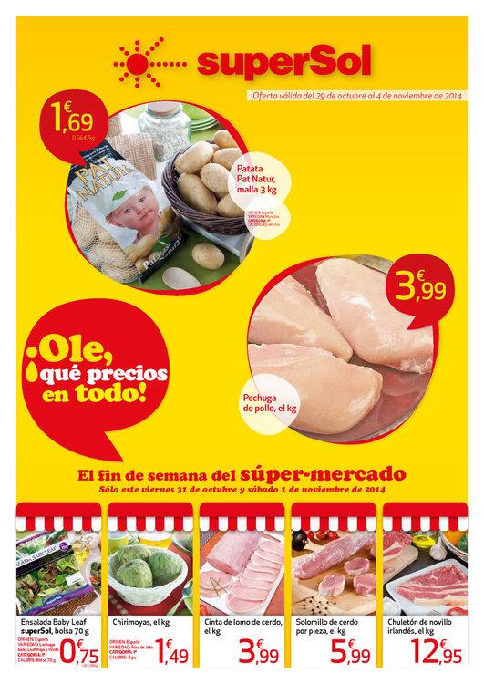 Ofertas de SuperSol, El fin de semana del Super-Mercado