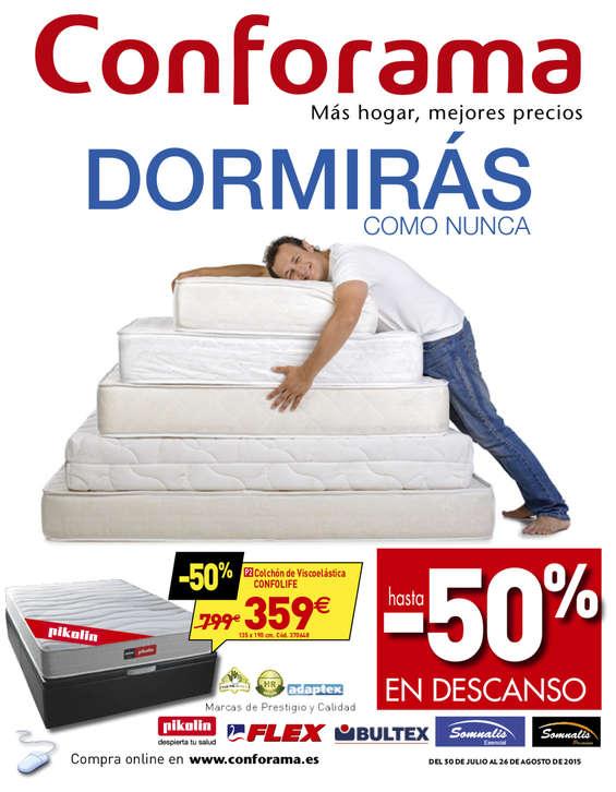 Ofertas de Conforama, Dormirás como nunca