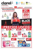 Ofertas de Clarel, Menos BLA-BLA-BLA y más BLACK-BLACK