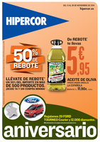 Ofertas de HiperCor, Aniversario - 50% de rebote