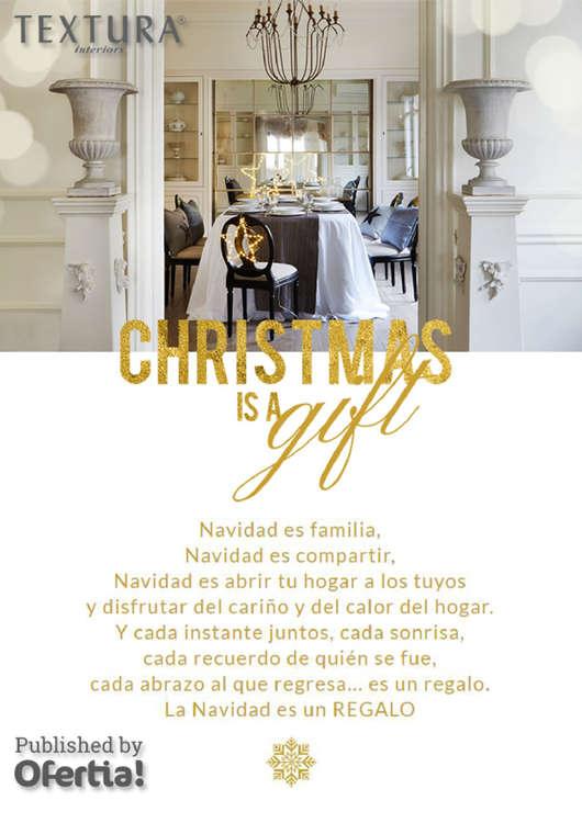 Ofertas de Textura, Christmas is a gift