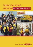 Ofertas de Dhl, Tarifa de servicios de Madrid 2015