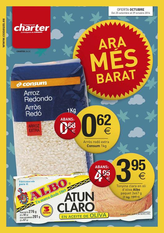 Ofertas de Supermercados Charter, Ara Mès Barat