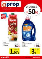 Ofertas de Eroski, 2º Unidad al -50%