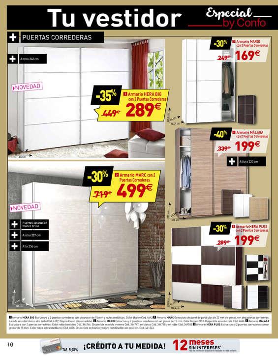 Casa en constructor armario barato conforama for Zapateros conforama precios