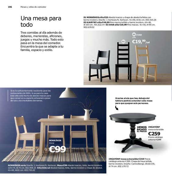 Comprar sillas de comedor barato en getafe ofertia for Ofertas de sillas de comedor