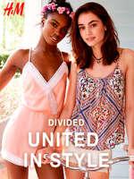 Ofertas de H&M, United in style