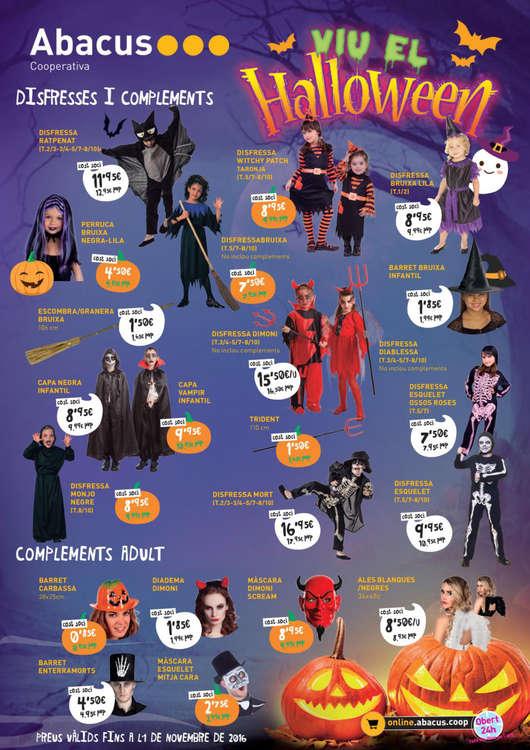 Ofertas de Abacus, Viu el Halloween