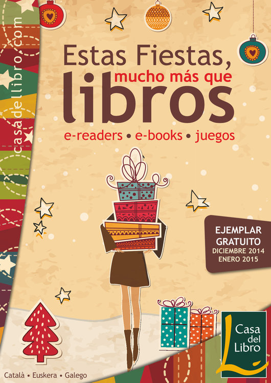 Ofertas de Casa del Libro, Estas fiestas, mucho más que libros