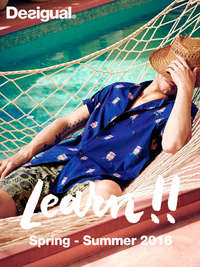 Learn!! Spring - Summer 2016 Man