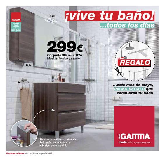 Ofertas de Gamma, ¡Vive tu baño!