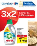 Ofertas de Carrefour, 3x2 en más de 1500 artículos