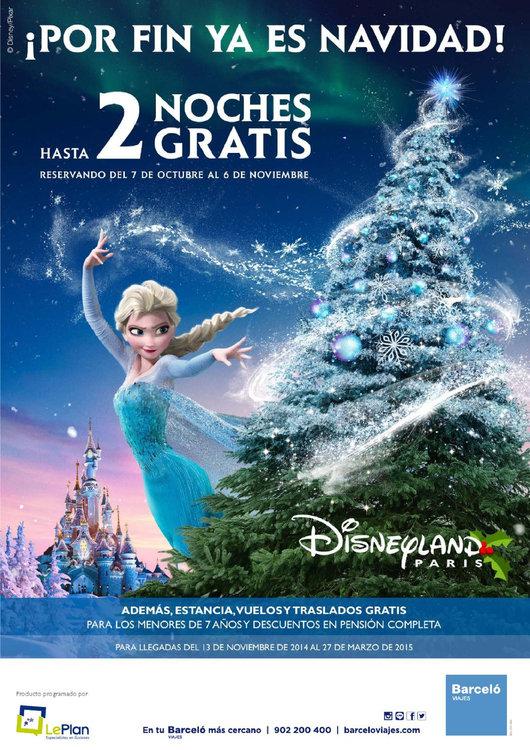 Ofertas de Halcón Viajes, Disney Invierno 2014/15