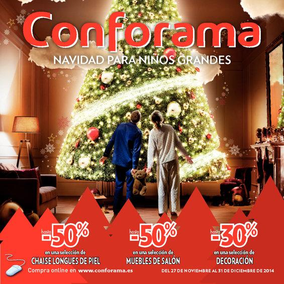 Ofertas de Conforama, Navidad para niños grandes