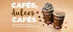 Ofertas de Dunkin Coffee, Cafés, dulces cafés
