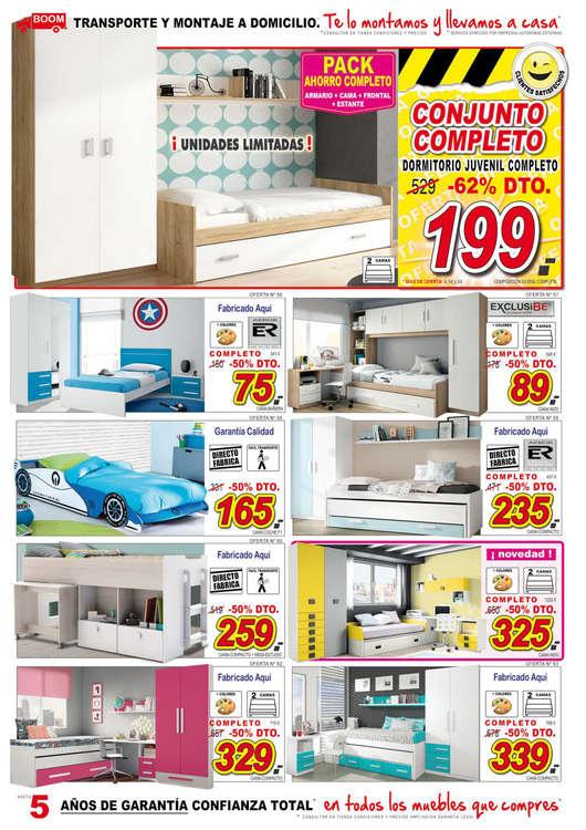 Comprar dormitorio juvenil barato en durango ofertia for Muebles boom catalogo