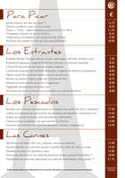 Ofertas de Restaurante Ateneo, Carta