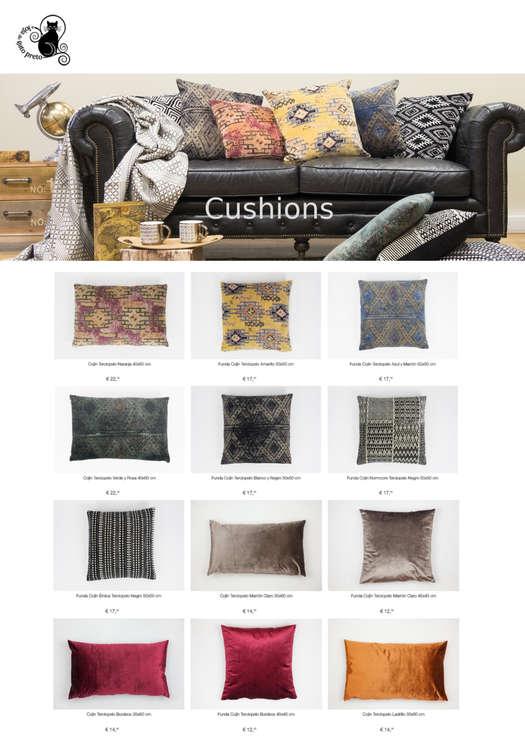 Ofertas de A Loja Do Gato Preto, Cushions