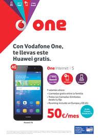 Con Vodafone One, te llevas este Huawei gratis