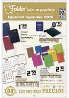 Ofertas de Folder, Especial agendas 2016